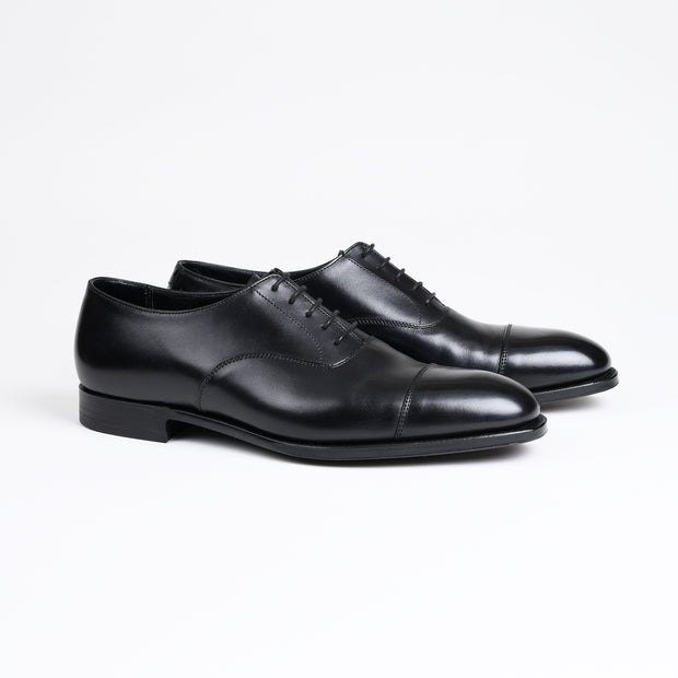 Audley Oxford in Black Calf
