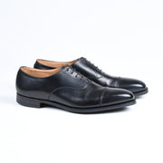 Hallam cap toe oxford in Black Calf