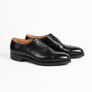 Radstock Captoe Oxford in Black Calf