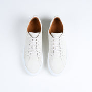 Tarmac in Cream Suede