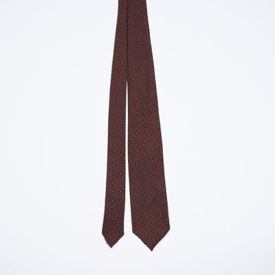 Woven Tie - Carmine Red