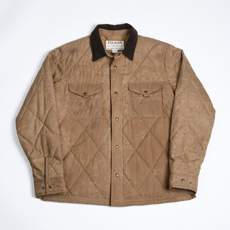 Hyder Quilted Jac-Shirt - Tan