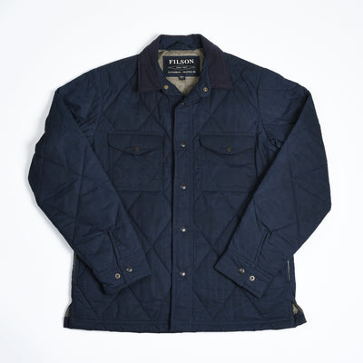 Hyder Quilted Jac-Shirt - Faded Navy