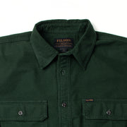 Field Flannel Shirt Dark Moss