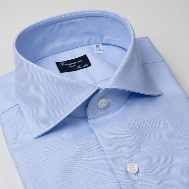 Dress Shirt in Light Blue Cotton