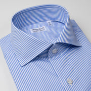 Dress Shirt in Blue Stripes
