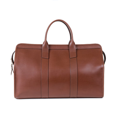 Signature Duffle Bag in Chestnut Harness Leather