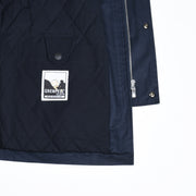 Scafell Parka in Grenfell Cloth - Navy