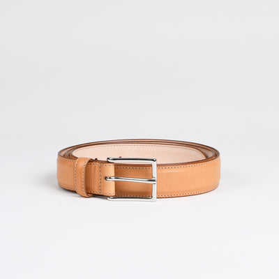 Dress belt - Natural Calf