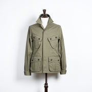 Jungle jacket in cotton canvas - Olive Green