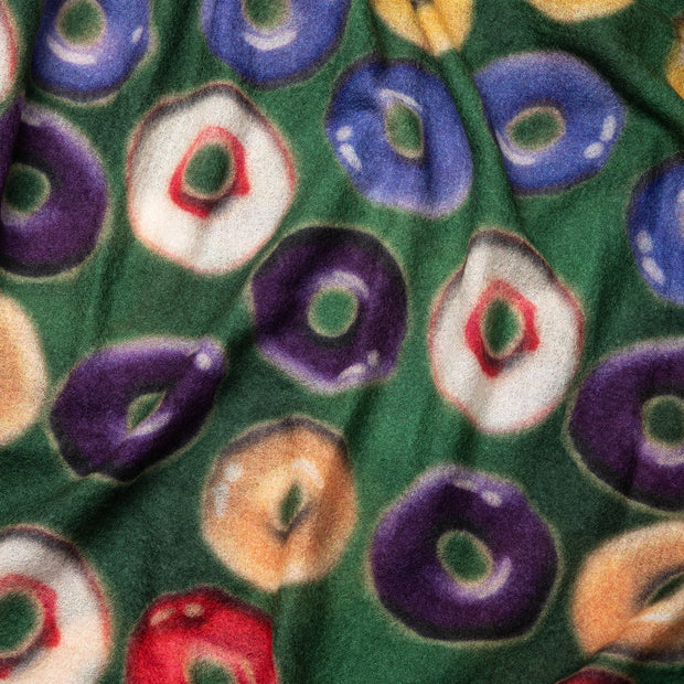 Cashmere Scarf - Donut Print