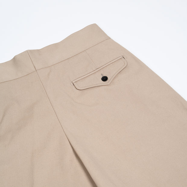 Cotton Gurkha Shorts - Sand