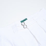 Cotton Gurkha Shorts - White