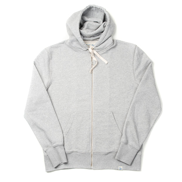 Good Basics Sweat Parka - Grey Melange