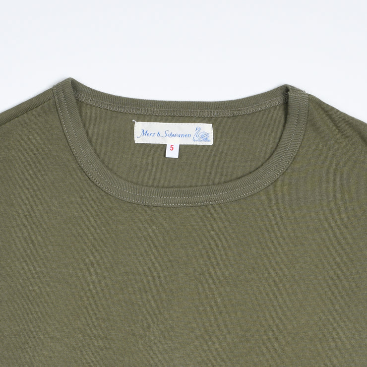 Heavyweight Classic Fit T-shirt - Army Green