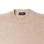 Italian Shaggy Dog Knit in Beige