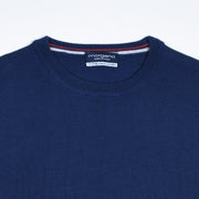 Extrafine Merino Crewneck - Blue