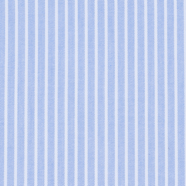 Oxford Reverse Stripe Light Blue