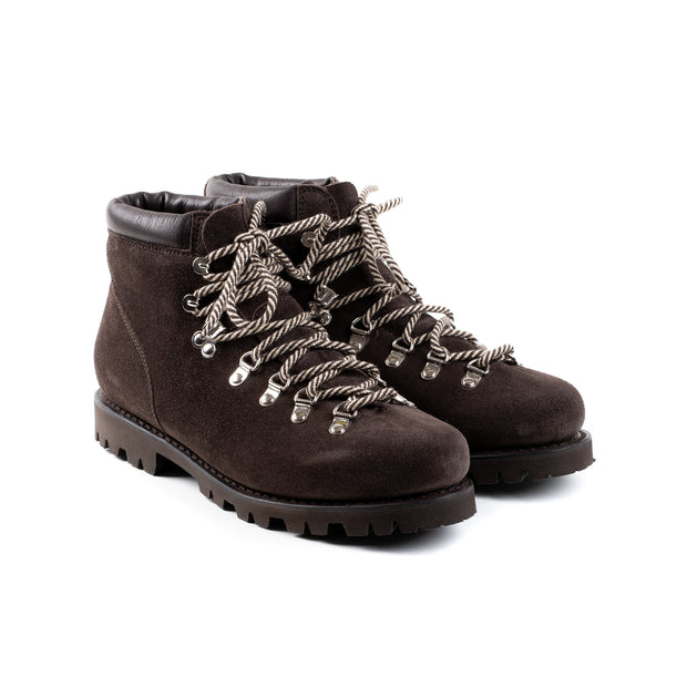 Avoriaz Hiking Boot in Espresso Suede