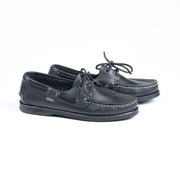 Barth Boat Shoe in Black