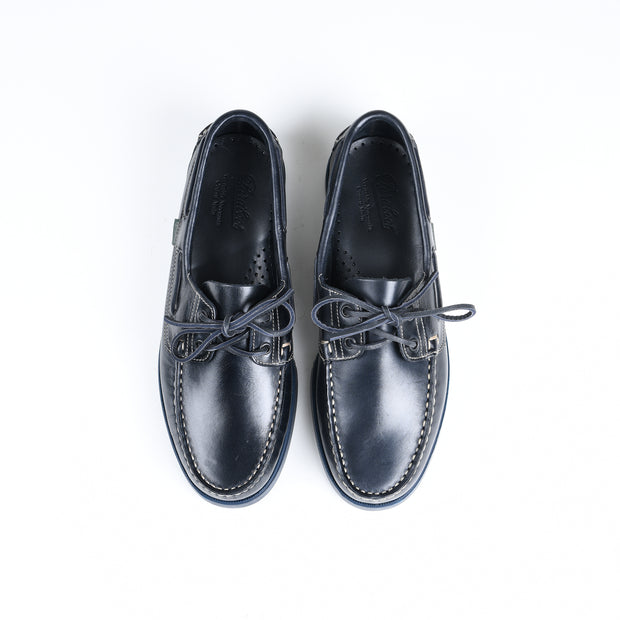 Barth Boat Shoe in Dark Navy