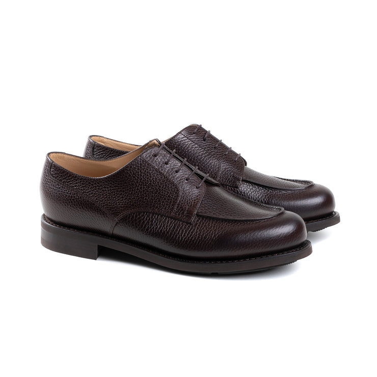Chambord Derby in Cafe Grain Leather
