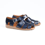 Pacific Sandal in Navy