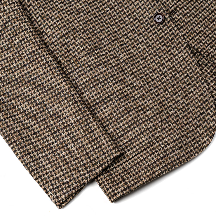 Houndstooth Sport Jacket in Wool & Cashmere