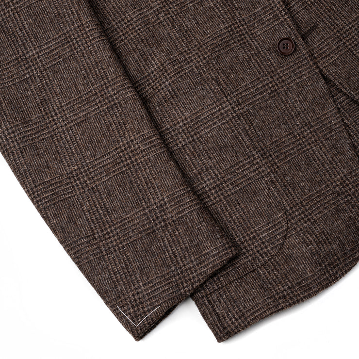Glen Plaid Tweed Sport Jacket