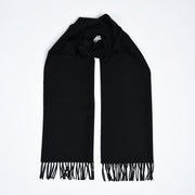 Large Wool Scarf - Black