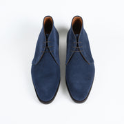 Gobi Chukka in Navy Suede