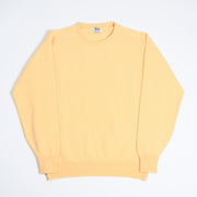 Leven Crewneck sweater in Lambswool - Morning Sun