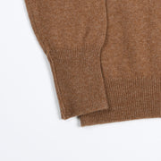 Rob Crewneck sweater in Lambswool - Savannah