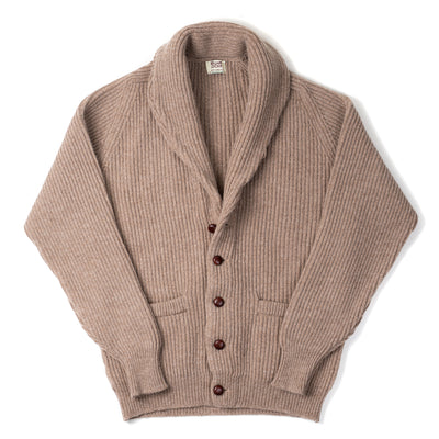 Geelong Lambswool Shawl Collar Cardigan - Colt