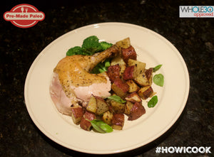 #HOWICOOK Recipe - Roasted chicken with Herb Potatoes & Steamed Broccoli