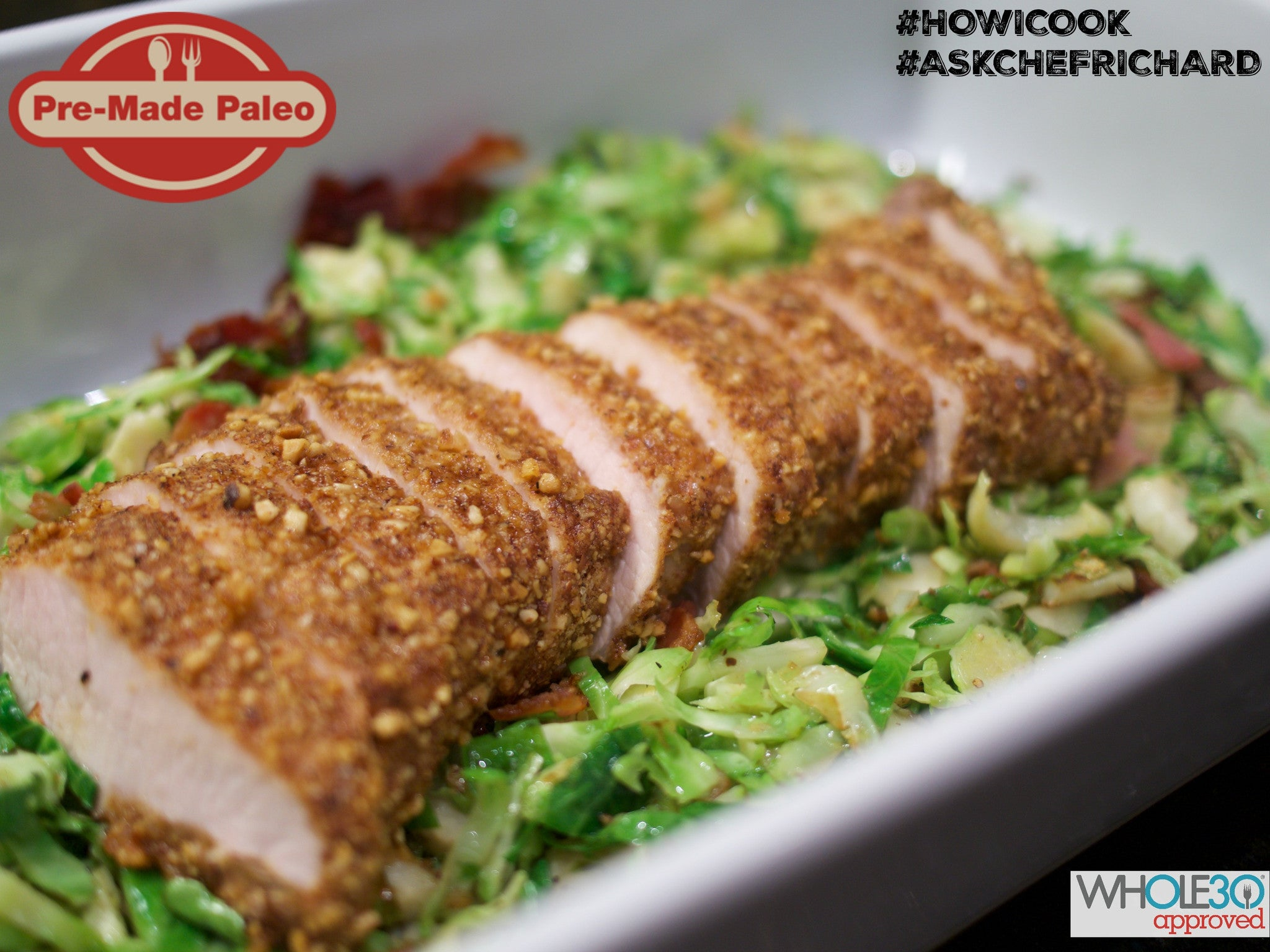 #HOWICOOK Recipe - Walnut Crusted Pork Loin (Inspired by Whole30 Book p. 252)