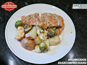 #HOWICOOK Recipe - Walnut Crusted Chicken