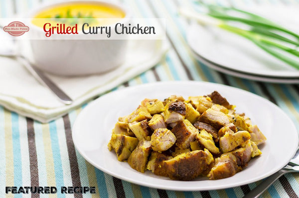 Recipe: Grilled Curry Chicken