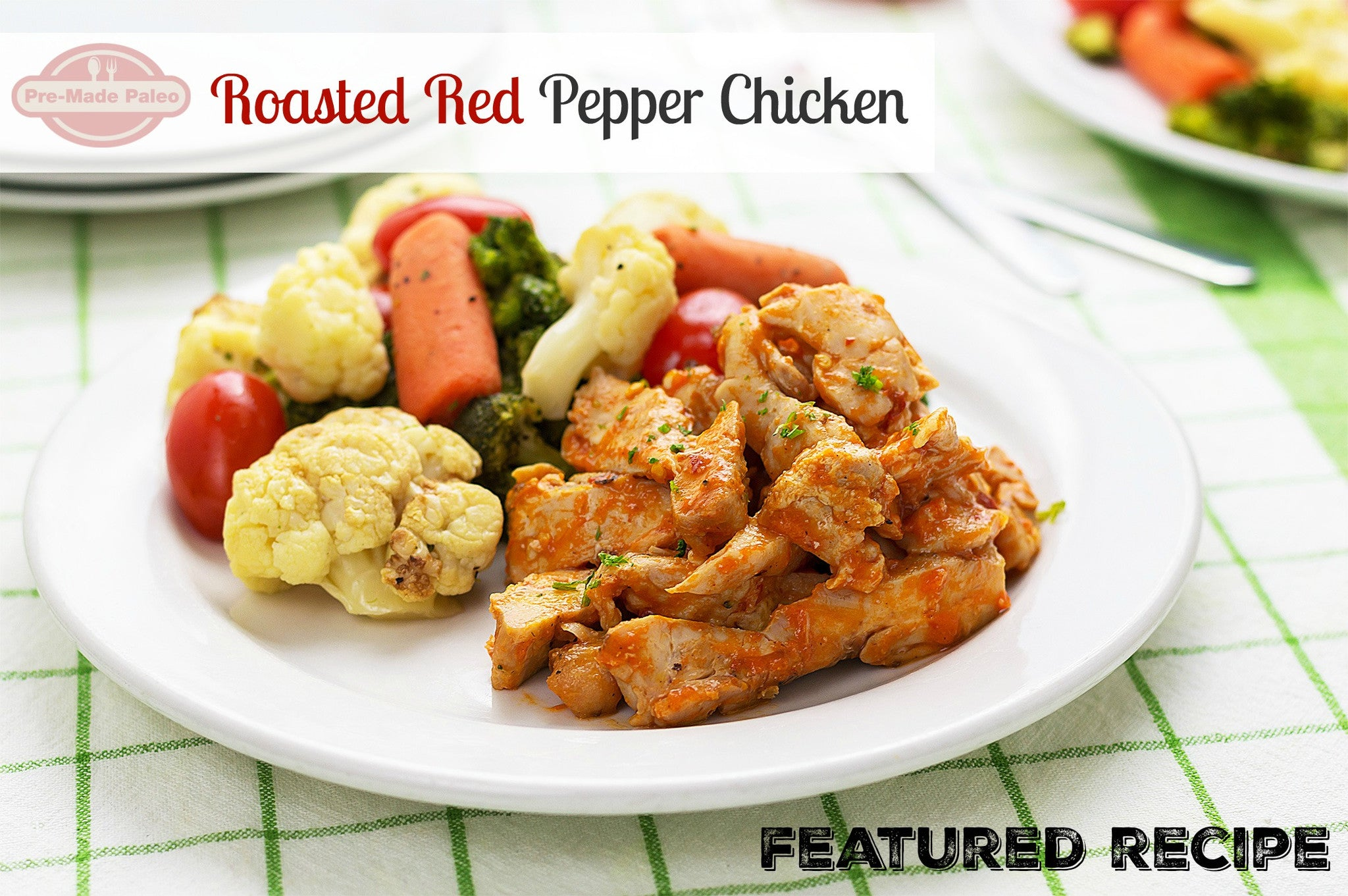 Recipe: Roasted Red Pepper Chicken