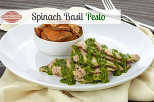 RECIPE: Spinach Basil Pesto