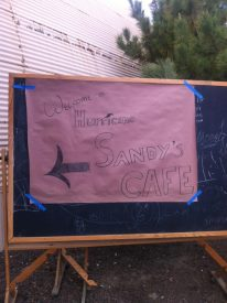 Hurricane Sandy Cafe