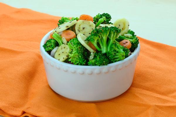 Broccoli, Carrots and Mushrooms - AIP friendly!