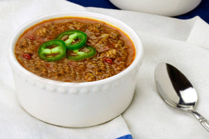 Grass-Fed Beef Chili Individual Meals True Fare