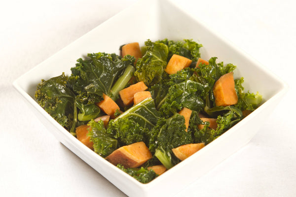 Sweet Potatoes and Kale - AIP Friendly!