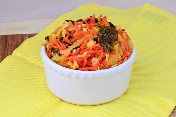 Cabbage Slaw with Delicata Squash- AIP friendly!