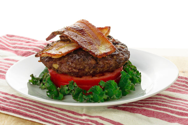Bacon Burger with Red Bliss Home Fries -  True Fare
