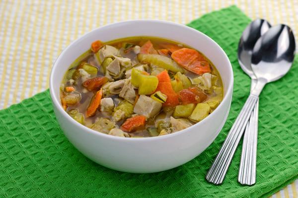 Chicken Soup with Squash and Zucchini (AIP) -  True Fare