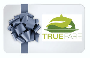 True Fare Gift Card Gift Card Pre-Made Paleo