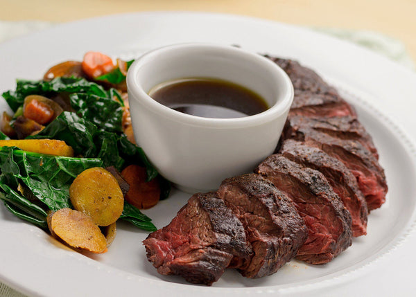 Top Sirloin Steak and Organic Vegetables - Limited supplies!