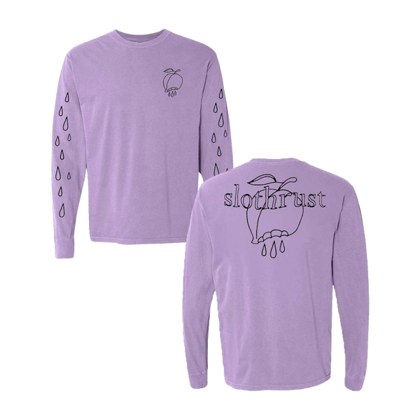 Purple Peach Drip Long Sleeve